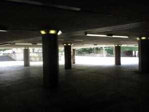 Außenansicht Ebertplatz leer