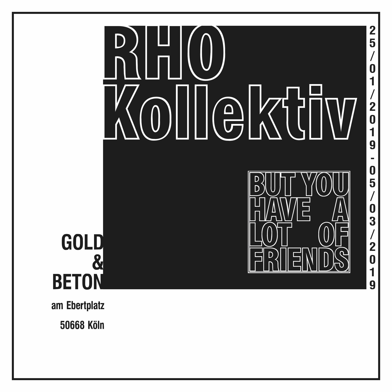 RHO Plakat Köln